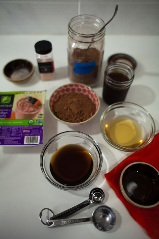 Mousse mise en place